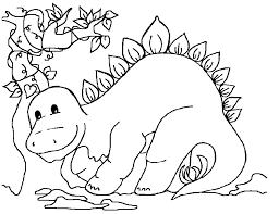 Dinosaur Coloring 7 Printable Pages 8