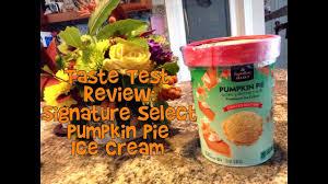 Pumpkin Pie Blizzard 2017 taste test review signature select pumpkin pie ice cream youtube
