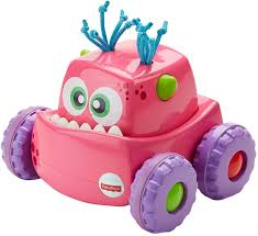 Fisher Price Press 'N Go Monster Truck Pink (DRG14)