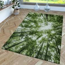 designer teppich greenery grün weiß