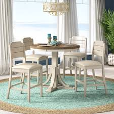 Kinsey Cottage 5 Piece Solid Wood Dining Set