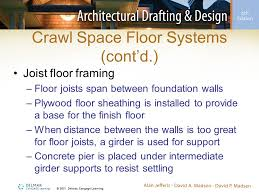 Distance Between Floor Joists by Floor Systems And Foundation Support Ppt Video Online Download
