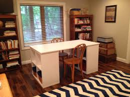 Ikea Linnmon Corner Desk Hack by This Project Table Uses Two Kallax Shelves Plus A Galant Table Top