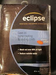Eclipse Blackout Curtains 95 Inch by Amazon Com Eclipse Samara Blackout Energy Efficient Curtain Panel