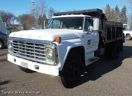 100 26 Truck Ford F600 Dump Truck Item DW9573 SOLD April Buck Bla