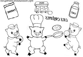 Coloriage 3 Petit Cochon Coloriage Les Trois Petit Cochons Free 90