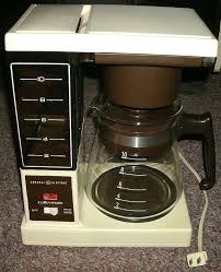 I Still Have The One Dad Used In 80s He Gave It To Me When Replaced With A Bunn Automatic Drip Machine Early 90s Heres Picture Of