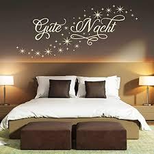 pixelstudio wandtattoo gute nacht sternen himmel schlafzimmer deko schlafen träumen schön safran 818 137 x 60 cm