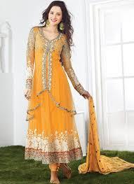 Latest Pakistani Mehndi Dress Design 2016