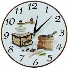pendule murale cuisine pendule murale de cuisine moulin à café la maison de la pendule