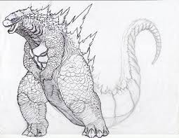 Godzilla 2014 Coloring Pages