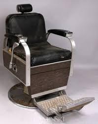 barber chair chaise de barbier vintage pinterest