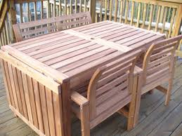 wooden outdoor furniture plans