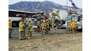 Tour Bus Hits Truck, Killing 13, Injuring 31 In California - WKRN Trophy Truck Archives My Life At Speed Baker California Wreck 727 Youtube Lost Boy Memoirs Adventure Travel And Ss Off Road Magazine January 2017 By Issuu The Juggernaut Does Plaster City Mojave Desert Offroad Race Crash 3658 Million Settlement Broken Fire Truck Stock Photos Images Alamy Car On Landscape Semi Carrying Pigs Rolls In Gorge St George News Head Collision Kills One On Hwy 18
