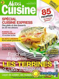 recettes maxi cuisine maxi cuisine juin 2016 no 108 pdf magazines