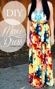 DIY Maxi Dress With Step By Tutorial Making These For Summer