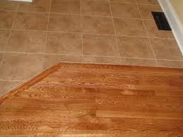 decoration how to combine tile and wood flooring installing