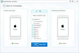 iPod to iPhone Transfer Transfer data from iPod to iPhone