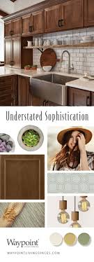 Decorating Style Quiz Elegantly Simple Modern Craftsman Kitchen Cabinets Shown With Door 540 Maple Truffle