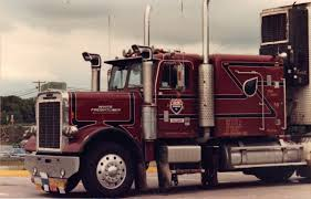 100 White Freightliner Trucks Long Hood Rig With Old Style Breathers Custom