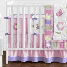sweet jojo designs butterfly pink and purple collection 9pc crib