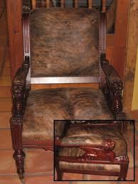Antique Griffin Chair Circa 1880