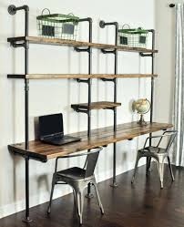 bureau stylé bureau industrielle bureau style industriel bois brut industrielle