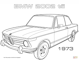 Click The 1973 BMW 2002 TII Coloring
