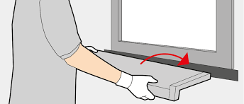 pose d un appui de fenêtre en applique fenetre24