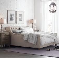 Devyn Tufted Bed Weathered Oak