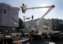 s f replacing streetlights with cheaper better led bulbs