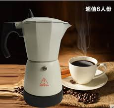 MOka Coffee Pot Moka Espresso Maker 6cups With High Quality And Excellent Design In Parts From Home