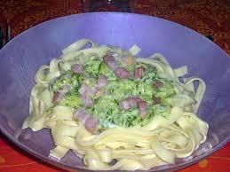 boursin cuisine recettes recette de pâtes courgettes lardons boursin