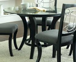 Round Glass Top Dining Room Tables Table