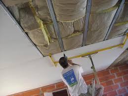 pose rail placo plafond la pose du placo au plafond ma maison jour par jour