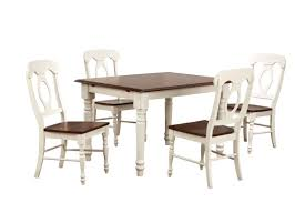 August Grove Kenya Butterfly Leaf 5 Piece Breakfast Nook Solid Wood Dining Set