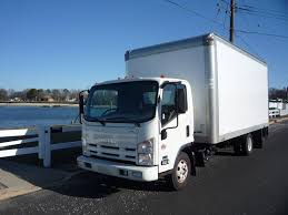 USED 2012 ISUZU NPR BOX VAN TRUCK FOR SALE IN IN NEW JERSEY #11332