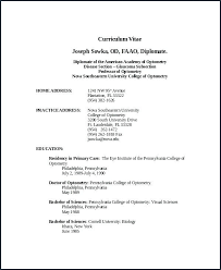 College Graduate Resume Template Lovely Professor Adjunct Sample From Of
