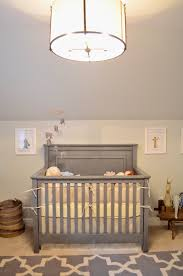 Pottery Barn Baby Ceiling Lights by Bellissimo And Bella A Gray Cream And Blue Room For A Baby Boy