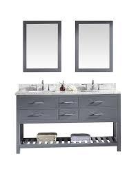 Ebay Bathroom Vanity Tops by Virtu Md 2260 Wmsq Gr Caroline Estate Double Bathroom Vanity