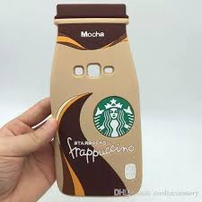 3d Stereo Mocha Frappuccino Starbucks Coffee Cup Soft Silicone Rubber Cases For Samsung Galaxy Grand Prime G530 A5 A8 Note 3 4 5 Note5 Cover Cell Phones