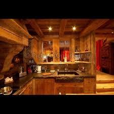 cuisine style chalet cuisine style chalet montagne photos de design d intérieur et