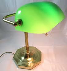 Green Bankers Lamp History by Bankers Desk Lamp Green Brass U2013 Franconiaski