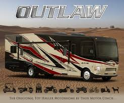 2015 Thor Outlaw Class A Toy Hauler