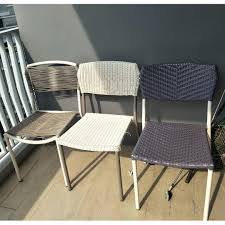 3 Outdoor Patio Chairs, Furniture, Tables & Chairs On Carousell
