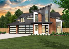 100 Modern House.com 7 Two Story House Plan By Mark Stewart