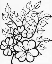 Free Coloring Pages Flowers And Butterflies Printable Flower