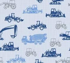 Wallpaper Esprit Kids Trucks Cars Light Blue Gloss 35706-4