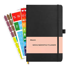 IBayam Planner 2019 2020 Undated 12 Month Planner Academic Weekly Monthly And Yearly Planner To Achieve Your Goals Improve Productivity Size 5 X