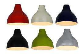 Small Uno Fitter Lamp Shades by Lamp Shades Retro Ceiling Light Designs 4 Metal Pendant With